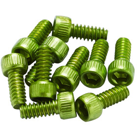 Reverse US Pedal Pin Set for Escape Pro/Black One Alu, light green